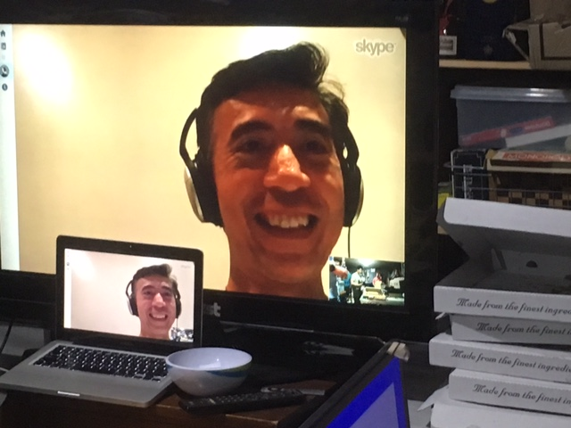 Our Skype call to John Valdezco of Manila Gear. [Credit: Michael Mulhern]