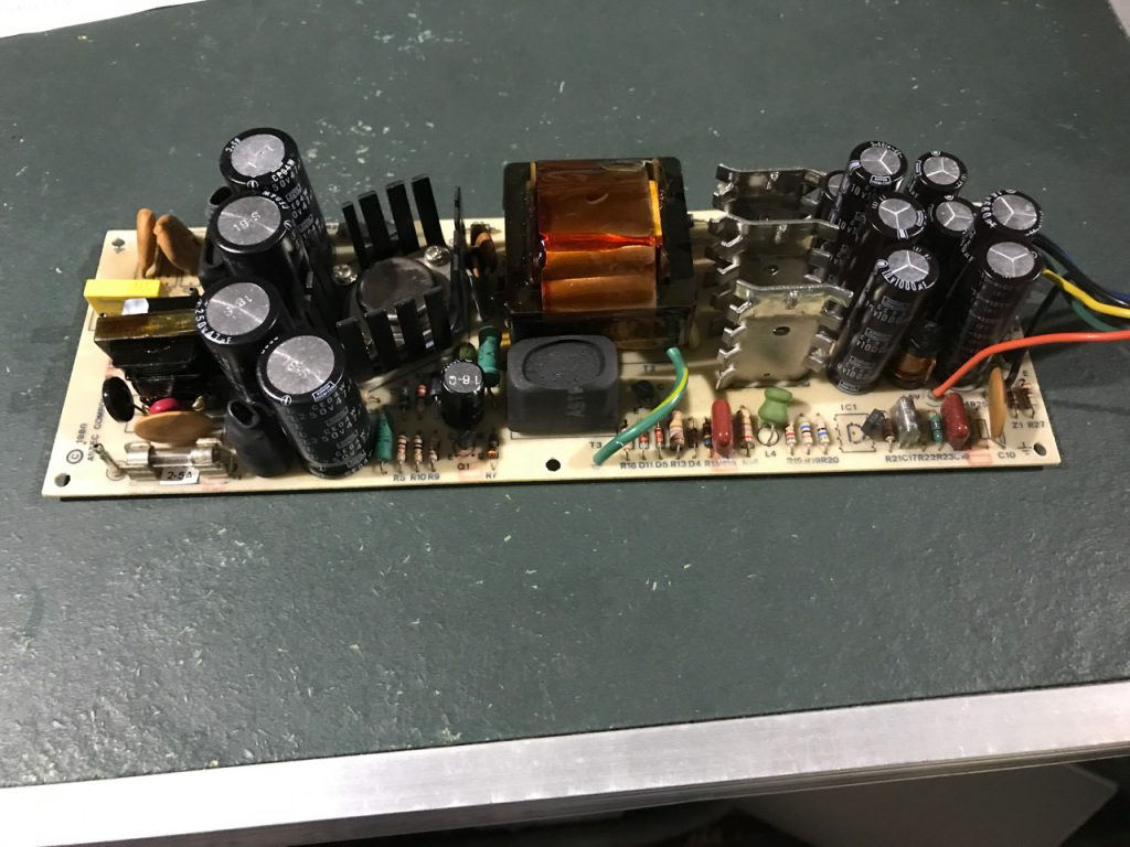 One europlus PSU repaired