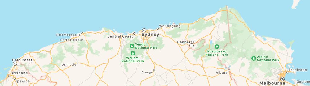 Australia's Eastern Seaboard